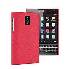 Blackberry Passport Q30用ハードケース プラスチック 質感もマット Blackberry レッド