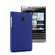 Blackberry Passport Silver Edition用ハードケース プラスチック 質感もマット Blackberry ネイビー