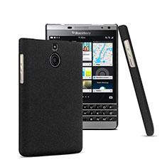 Blackberry Passport Silver Edition用ハードケース プラスチック 質感もマット Blackberry ブラック