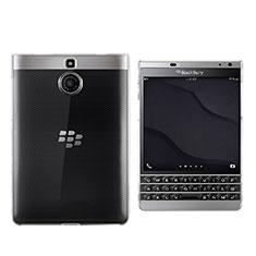 Blackberry Passport Silver Edition用極薄ソフトケース シリコンケース 耐衝撃 全面保護 クリア透明 カバー Blackberry クリア