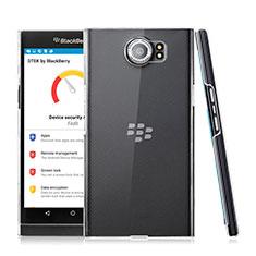 Blackberry Priv用ハードケース クリスタル クリア透明 Blackberry クリア