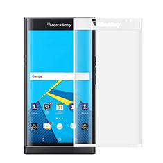 Blackberry Priv用強化ガラス フル液晶保護フィルム Blackberry ホワイト
