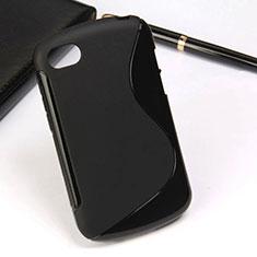 Blackberry Q10用ソフトケース S ライン Blackberry ブラック