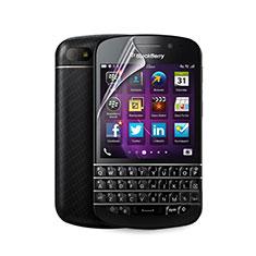 Blackberry Q10用高光沢 液晶保護フィルム Blackberry クリア