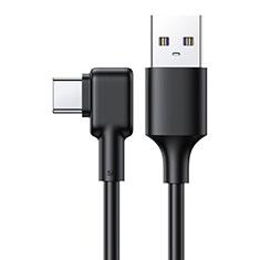Huawei Matepad T 10.8用Type-Cケーブル 充電ケーブルAndroidユニバーサル T22 ブラック