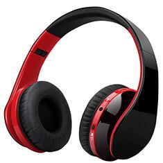 Bluetoothヘッドセットワイヤレス ヘッドホンイヤホン ステレオ H72 レッド