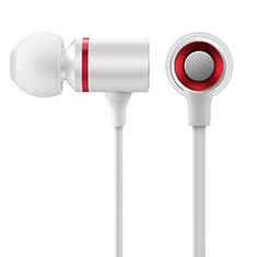 Huawei MatePad 5G 10.4用イヤホン ヘッドホン ステレオ H29 ホワイト
