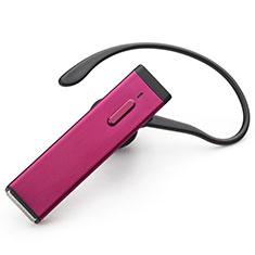 Samsung Galaxy Tab A6.10.1 SM-T580 SM-T585用Bluetoothイヤホンワイヤレス ヘッドホン ステレオ H44 ローズレッド