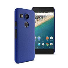 Google Nexus 5X用ハードケース プラスチック 質感もマット グーグル ネイビー