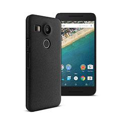 Google Nexus 5X用ハードケース プラスチック 質感もマット グーグル ブラック