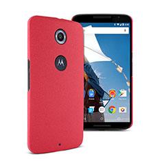 Google Nexus 6用ハードケース カバー プラスチック グーグル レッド