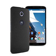 Google Nexus 6用ハードケース カバー プラスチック グーグル ブラック