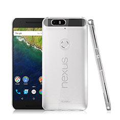 Google Nexus 6P用ハードケース クリスタル クリア透明 グーグル クリア