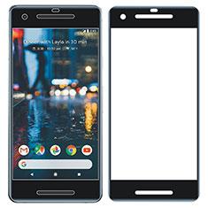 Google Pixel 2用強化ガラス フル液晶保護フィルム グーグル ブラック