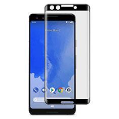Google Pixel 3用強化ガラス フル液晶保護フィルム F03 グーグル ブラック