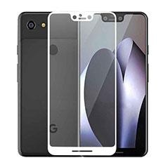 Google Pixel 3 XL用強化ガラス フル液晶保護フィルム F02 グーグル ホワイト