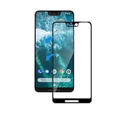 Google Pixel 3 XL用強化ガラス フル液晶保護フィルム F05 グーグル ブラック