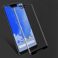 Google Pixel 3 XL用強化ガラス フル液晶保護フィルム F06 グーグル ブラック