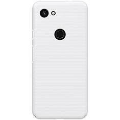 Google Pixel 3a用ハードケース プラスチック 質感もマット M02 グーグル ホワイト