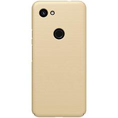 Google Pixel 3a XL用ハードケース プラスチック 質感もマット M02 グーグル ゴールド