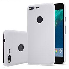 Google Pixel用ハードケース プラスチック 質感もマット グーグル ホワイト