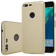 Google Pixel XL用ハードケース プラスチック 質感もマット グーグル ゴールド