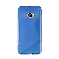 HTC 10 One M10用ソフトケース S ライン HTC ネイビー
