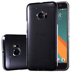 HTC 10 One M10用極薄ソフトケース シリコンケース 耐衝撃 全面保護 クリア透明 T02 HTC クリア
