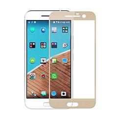 HTC 10 One M10用強化ガラス フル液晶保護フィルム HTC ゴールド