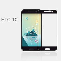 HTC 10 One M10用強化ガラス フル液晶保護フィルム F02 HTC ブラック