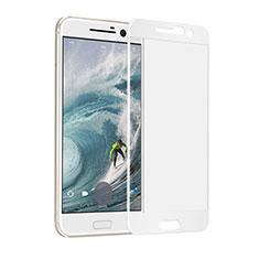 HTC 10 One M10用強化ガラス フル液晶保護フィルム F02 HTC ホワイト