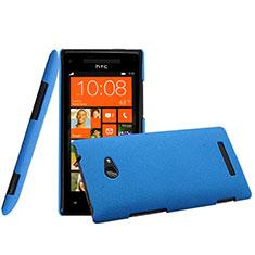 HTC 8X Windows Phone用ハードケース プラスチック 質感もマット HTC ネイビー