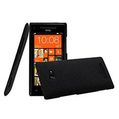 HTC 8X Windows Phone用ハードケース プラスチック 質感もマット HTC ブラック