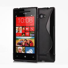 HTC 8X Windows Phone用ソフトケース S ライン HTC ブラック