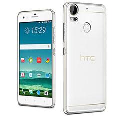 HTC Desire 10 Pro用極薄ソフトケース シリコンケース 耐衝撃 全面保護 クリア透明 カバー HTC クリア