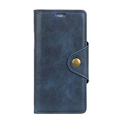 HTC Desire 12S用手帳型 レザーケース スタンド カバー L01 HTC ブラウン