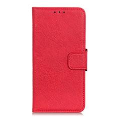 HTC Desire 19 Plus用手帳型 レザーケース スタンド カバー L01 HTC レッド
