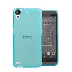 HTC Desire 530用極薄ソフトケース シリコンケース 耐衝撃 全面保護 クリア透明 HTC ネイビー