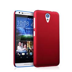 HTC Desire 620用ハードケース プラスチック 質感もマット HTC レッド