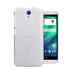 HTC Desire 620用ハードケース クリスタル クリア透明 HTC ホワイト
