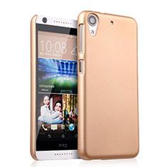 HTC Desire 626用ハードケース プラスチック 質感もマット HTC ゴールド
