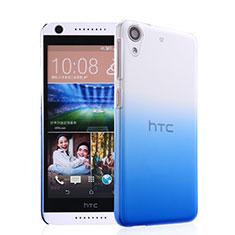 HTC Desire 626用ハードケース グラデーション 勾配色 クリア透明 HTC ネイビー