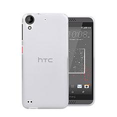 HTC Desire 630用極薄ソフトケース シリコンケース 耐衝撃 全面保護 クリア透明 HTC クリア