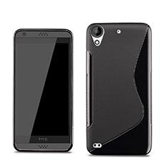 HTC Desire 630用ソフトケース S ライン HTC ブラック