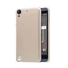 HTC Desire 630用ハードケース プラスチック メッシュ デザイン HTC ゴールド