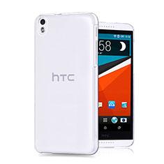 HTC Desire 816用極薄ソフトケース シリコンケース 耐衝撃 全面保護 クリア透明 HTC クリア