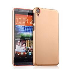 HTC Desire 820用ハードケース プラスチック 質感もマット HTC ゴールド