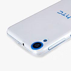 HTC Desire 820用極薄ソフトケース シリコンケース 耐衝撃 全面保護 クリア透明 HTC クリア