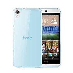 HTC Desire 826 826T 826W用極薄ソフトケース シリコンケース 耐衝撃 全面保護 クリア透明 HTC ネイビー