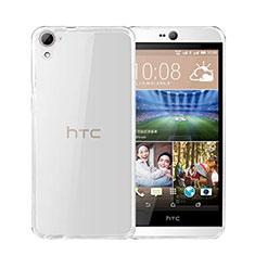 HTC Desire 826 826T 826W用極薄ソフトケース シリコンケース 耐衝撃 全面保護 クリア透明 HTC クリア
